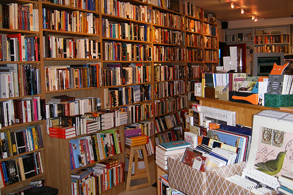 The arts and culture section at Joseph Fox Bookshop